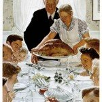 Norman Rockwell Thanksgiving (Not in Iraq)
