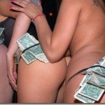 stripper with money