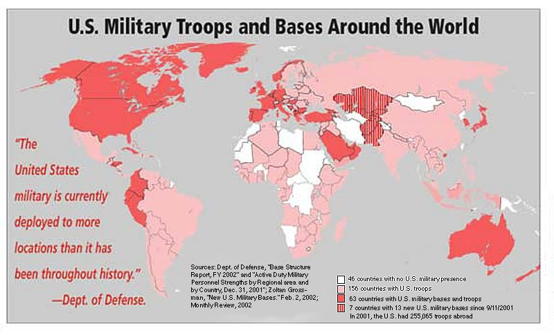 The Scat Of Empire US Navy Rape In Okinawa Hoopers War Peter - Map of us naval bases around the world