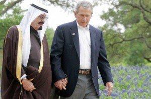 Bush-Saudi-Arabia