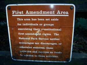First_amendment_area_Muir_Woods